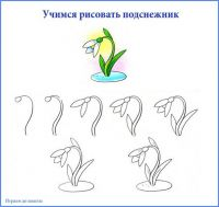 uchimsya_risovat_podsnezhnik